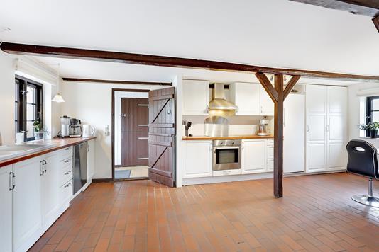 Villa på Hørve Kirkevej i Hørve - Køkken