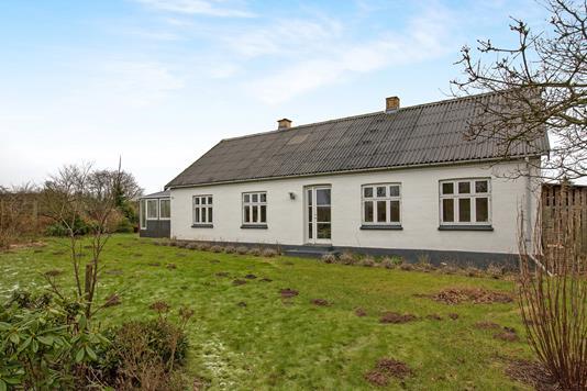 Villa på Krajbjergvej i Skødstrup - Ejendommen