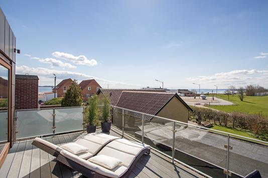 Villa på Skæring Højsagervej i Egå - Tagterrasse