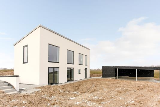 Villa på Møllesvinget i Skødstrup - Ejendommen