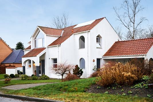 Villa på Skæring Havvej i Egå - Ejendommen
