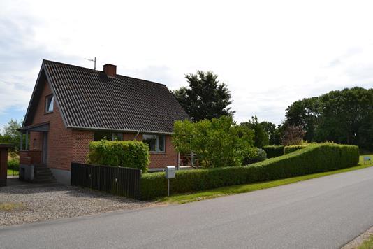 Villa på Overbyvej i Juelsminde - Facade