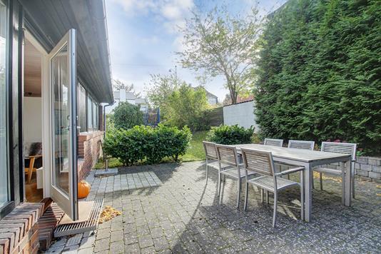 Villa på C.F. Richs Vej i Frederiksberg - Terrasse