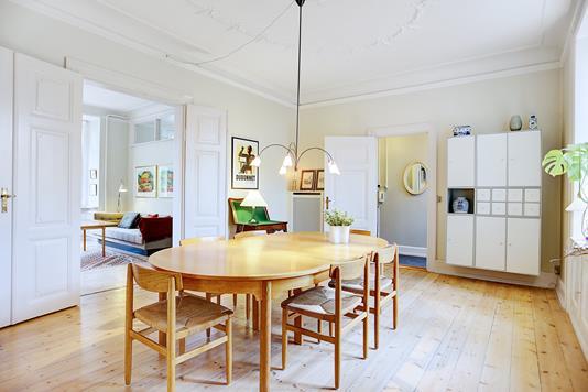 Ejerlejlighed på Frederik VI's Alle i Frederiksberg - Spisestue