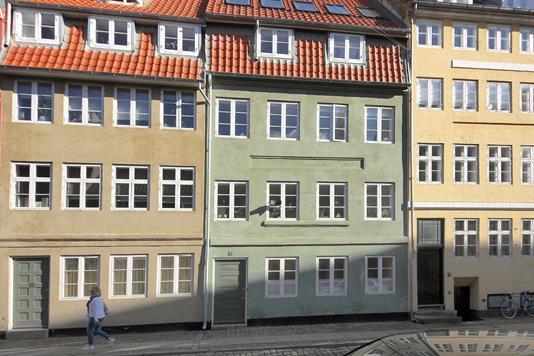 Villa på Wildersgade i København K - Ejendommen
