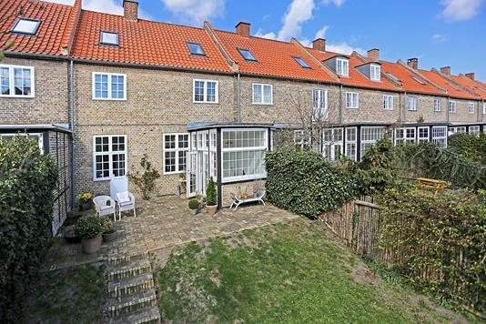 Rækkehus på Hulgårdsvej i København NV - Terrasse