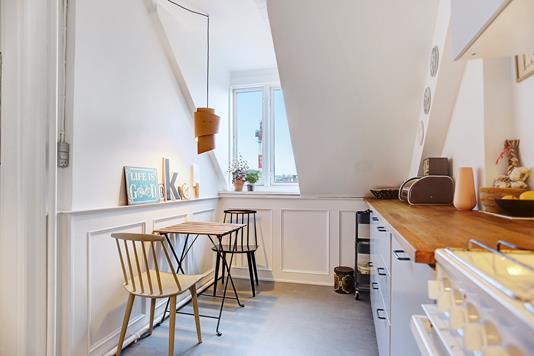 Ejerlejlighed på Istedgade i København V - Køkken