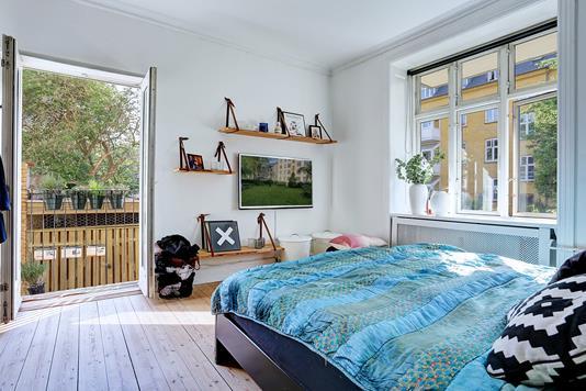 Ejerlejlighed på Guldborgvej i Frederiksberg - Soveværelse