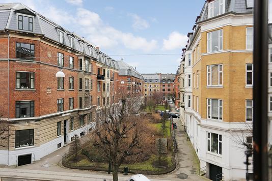 Ejerlejlighed på Dr. Abildgaards Alle i Frederiksberg C - Gårdmiljø