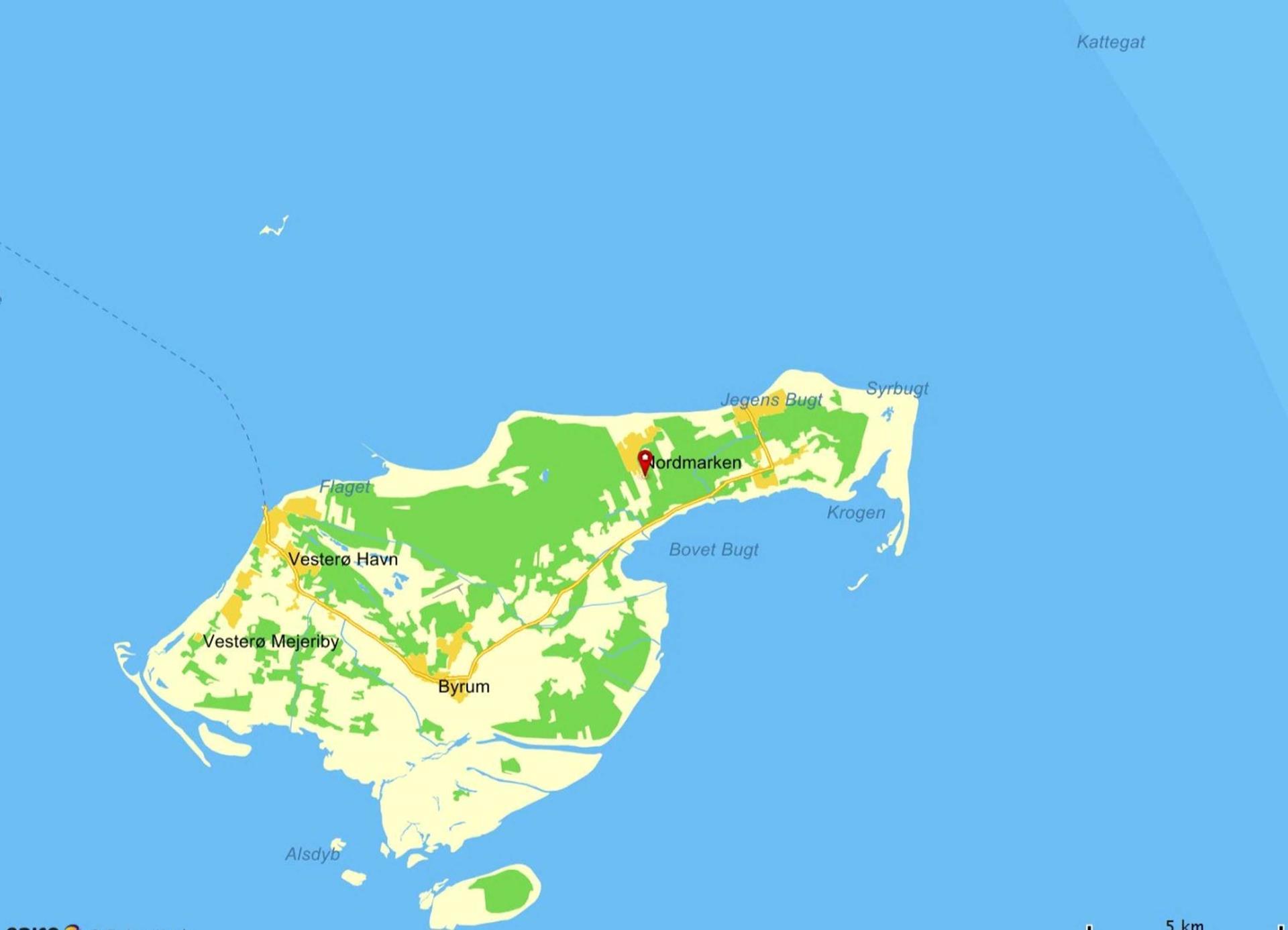 Fritidsgrund på Rådyrvej i Læsø - Grund