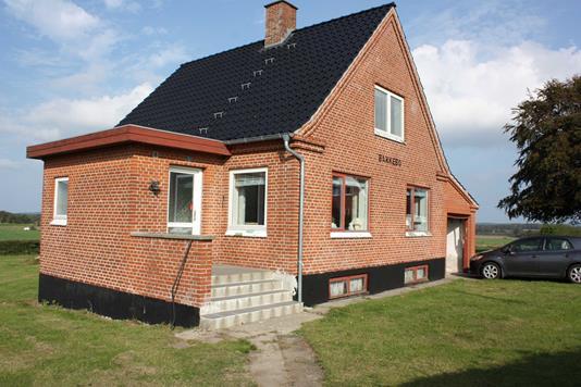 Villa på Sølvgade i Brønderslev - Facade