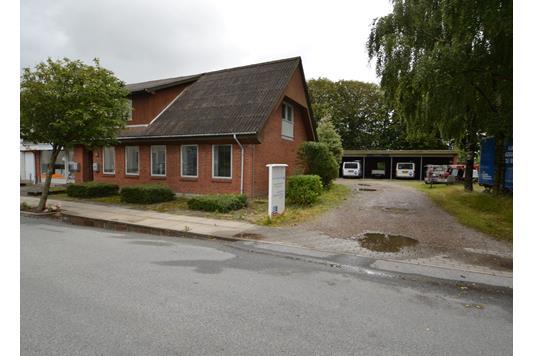 Villa på Borgergade i Hjallerup - Facade