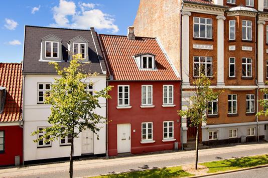 Villa på Nørrebrogade i Vejle - Ejendommen