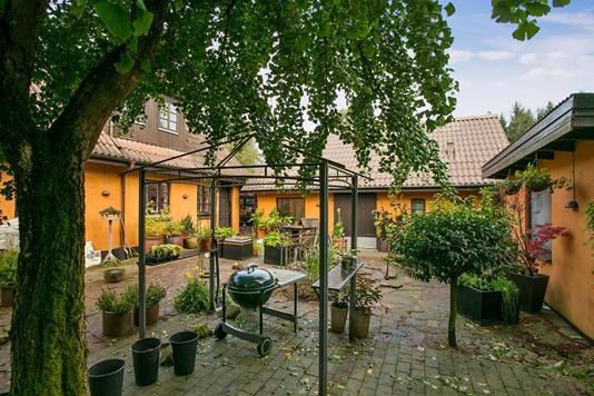 Villa på Jægervej i Viuf - Terrasse