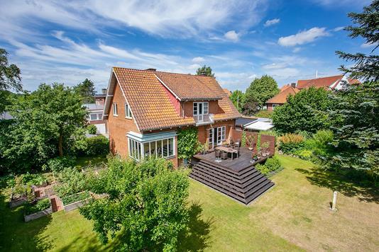 Villa på Møller Jensensvej i Vejle - Set fra haven