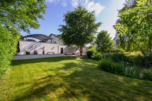 Villa på Mosevej i Vejle - Set fra haven