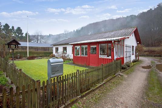 Villa på Grejsdalsvej i Vejle - Set fra vejen
