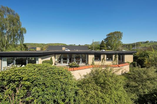 Villa på Svalevej i Vejle - Set fra haven