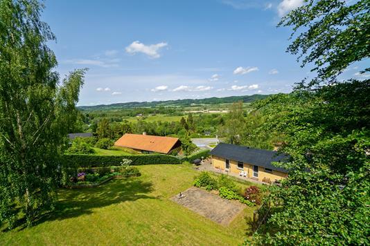 Villa på Lupinvej i Vejle - Set fra haven
