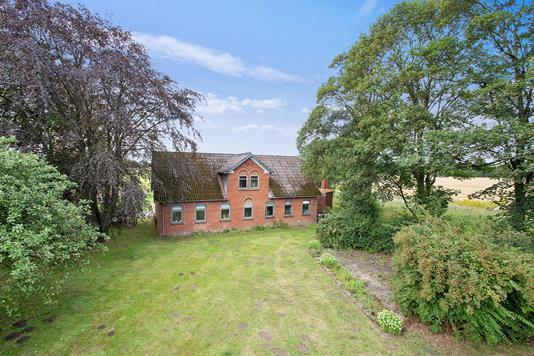 Villa på Toftegårdsvej i Hedensted - Set fra haven
