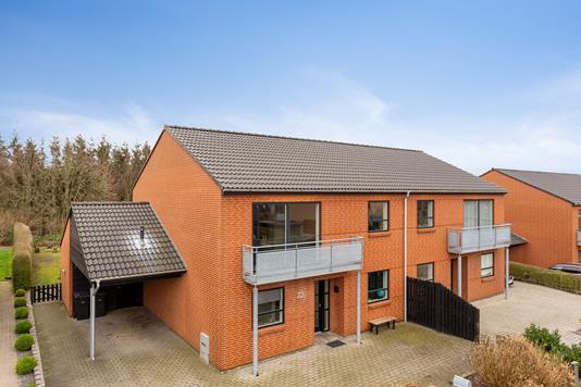 Villa på Degnevænget i Vejle - Set fra haven