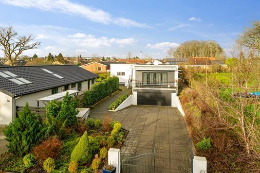 Villa på Stønnekærvej i Vejle - Set fra haven