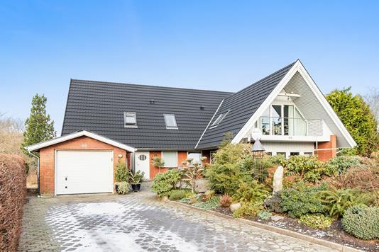 Villa på Billundvej i Randbøl - Ejendommen