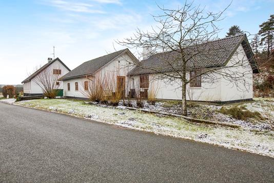 Villa på Naundrupvej i Møldrup - Ejendommen
