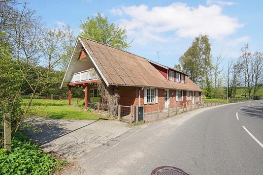 Villa på Hvamvej i Aalestrup - Ejendommen