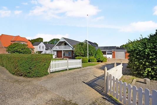 Villa på Søndergade i Møldrup - Ejendom 1