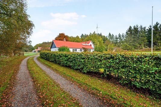 Landejendom på Hørupvej i Møldrup - Ejendommen