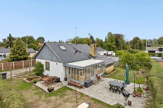 Villa på Solvænget i Gadstrup - Ejendommen