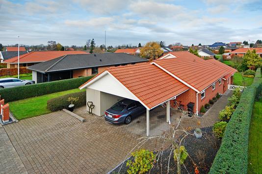 Villa på Ravnsgårdsvej i Fredericia - Mastefoto