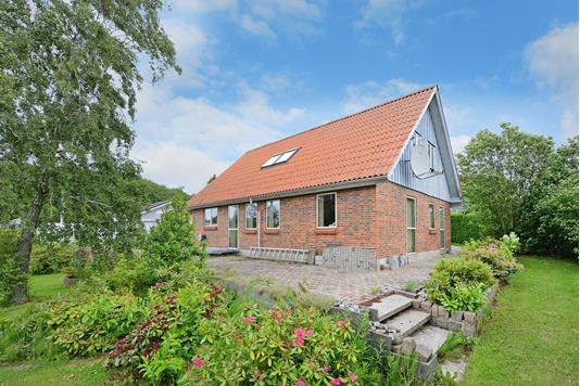 Villa på Søbakken i Fredericia - Facade havesiden