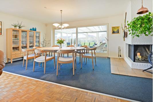 Villa på Grønkjærsvej i Fredericia - Stue