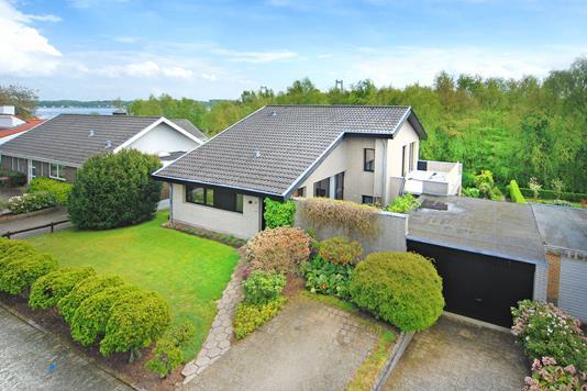 Villa på Sandbakken i Fredericia - Mastefoto