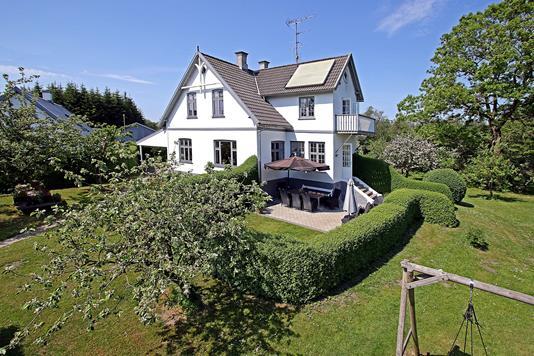 Villa på Slettemosevej i Veksø Sjælland - Ejendommen