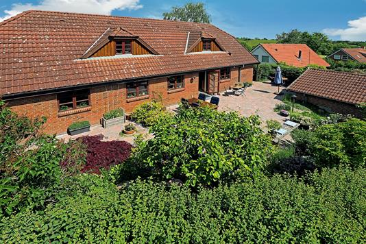 Villa på Korshøj i Veksø Sjælland - Ejendommen