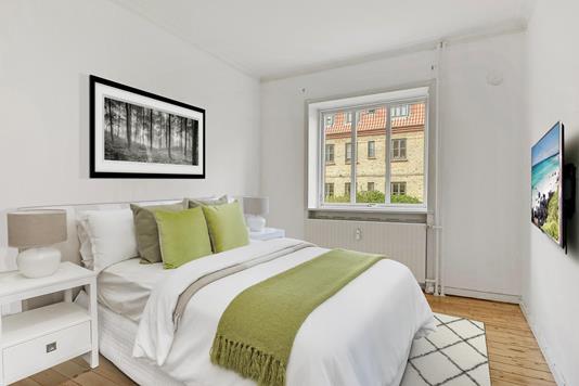 Ejerlejlighed på P. Knudsens Gade i København SV - Soveværelse