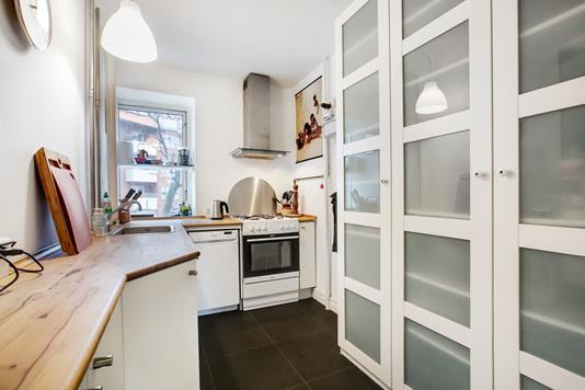 Ejerlejlighed på Wagnersvej i København SV - Køkken