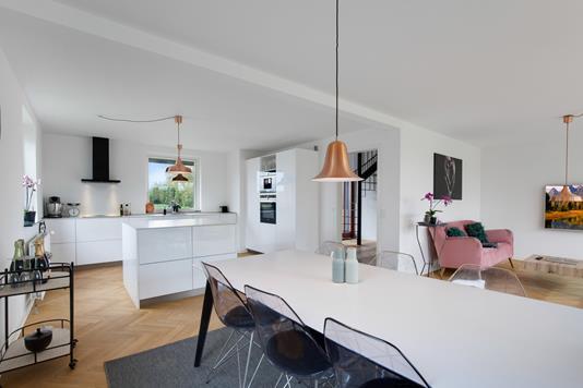 Villa på Duevej i Hundested - Stue