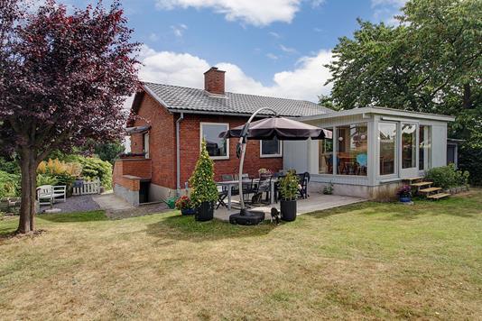 Villa på Københavnsvej i Slangerup - Ejendommen