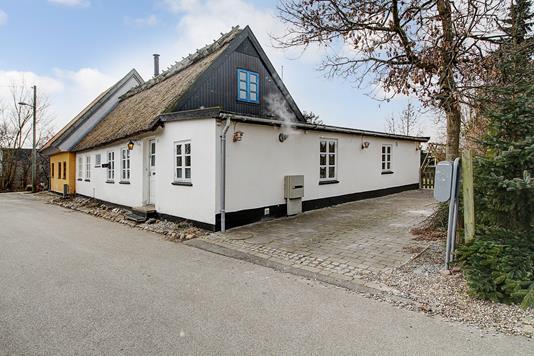 Villa på Klosterstræde i Slangerup - Ejendommen