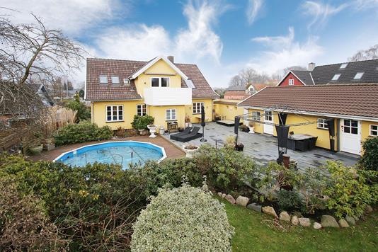 Villa på Bygaden i Slangerup - Have
