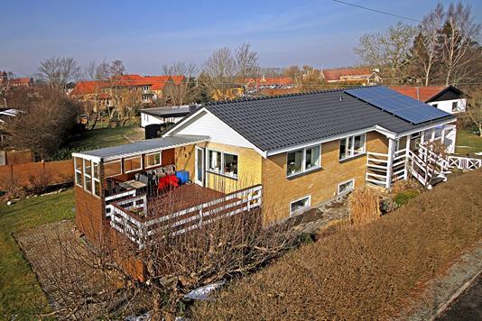 Villa på Mosevej i Slangerup - Ejendommen