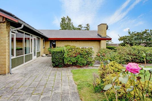 Villa på Solhøjvej i Slangerup - Terrasse