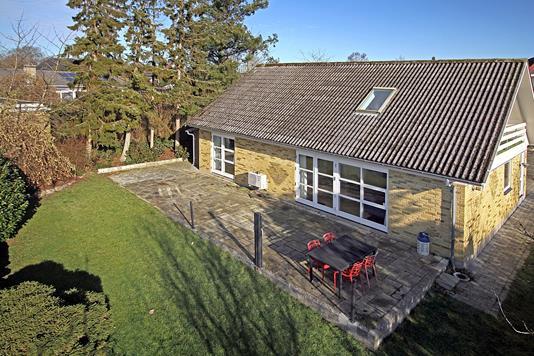 Villa på Kirsebærvang i Slangerup - Terrasse