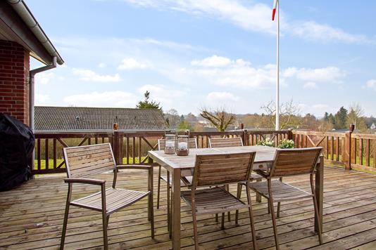 Villa på Engparken i Hornsyld - Terrasse