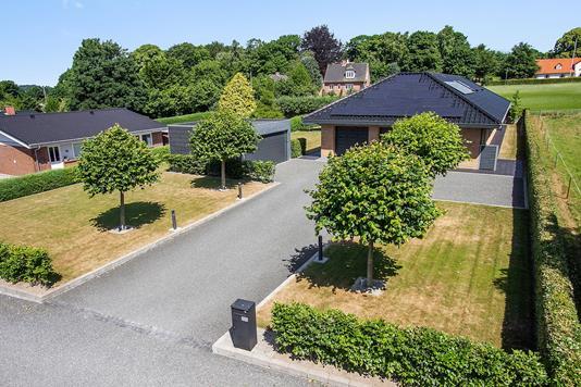 Villa på Sydtoften i Horsens - Set fra vejen
