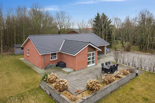 Villa på Skjoldvej i Horsens - Set fra haven